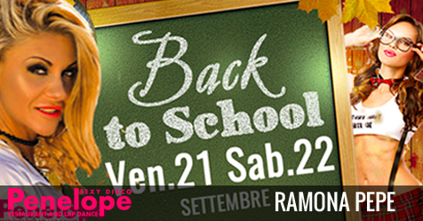 Back to School con Ramona Pepe