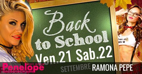 Back to School con Ramona Pepe