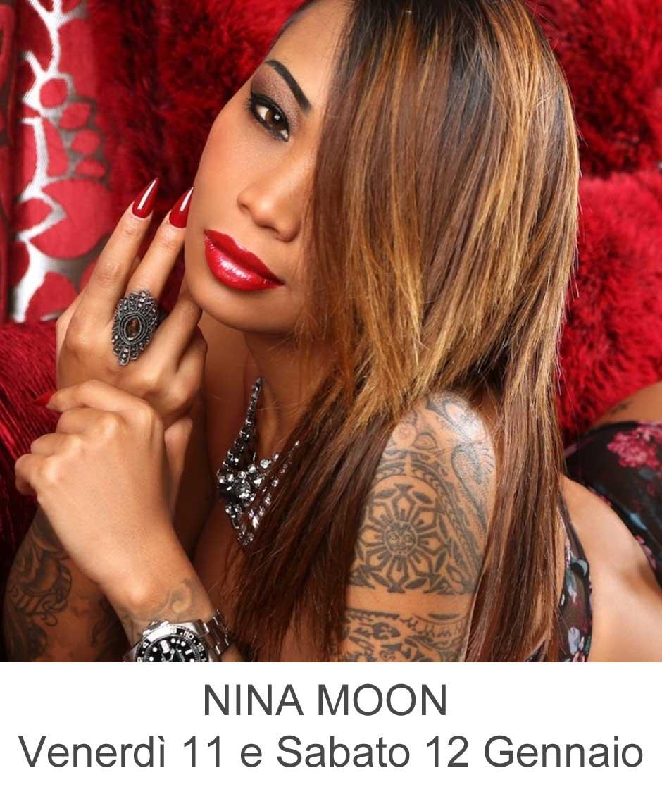 Nina Moon Venerdì 11 e Sabato 12 Gennaio