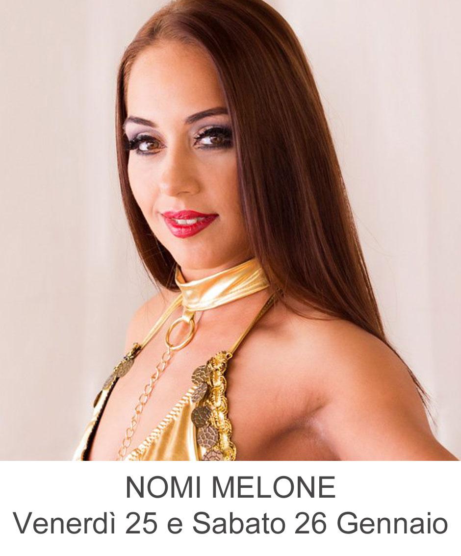 Nomi Malone live al Penelope