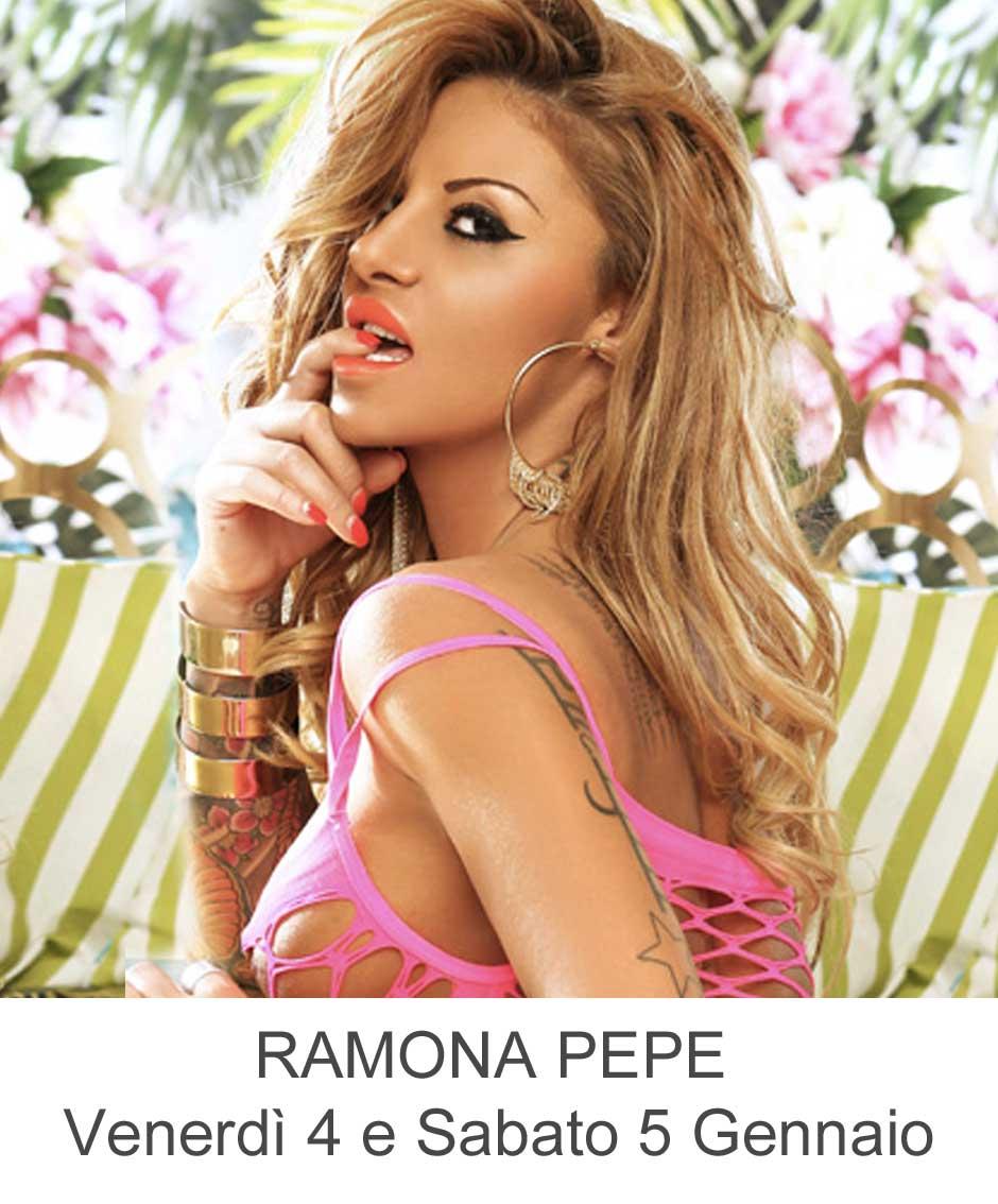 Ramona Pepe Venerdì 4 e Sabato 5 Gennaio