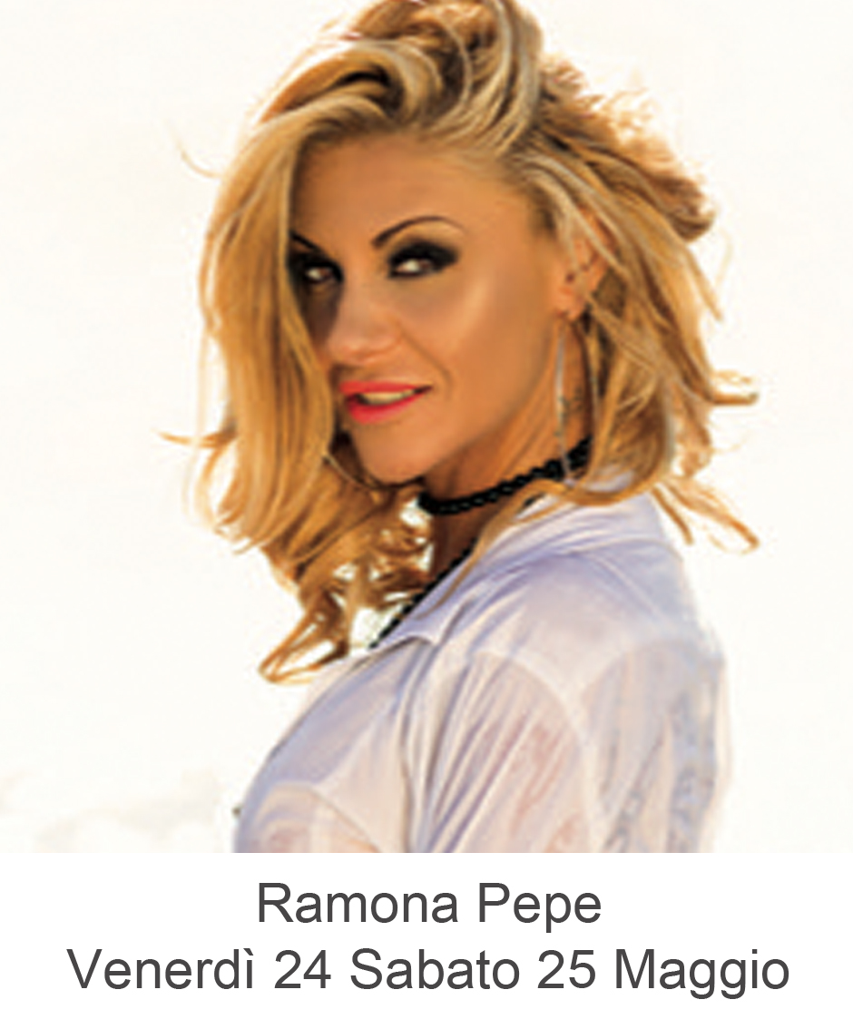 ramona pepe live show maggio
