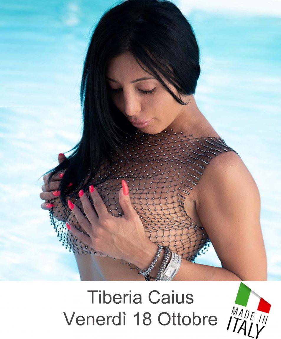 Tiberia Caius per la prima volta al Sexy Disco Penelope