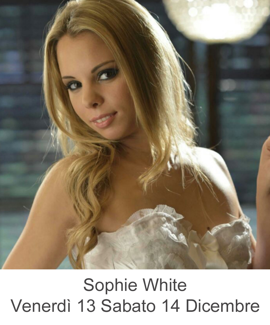 Sophie White nel miglior lap dance in Toscana