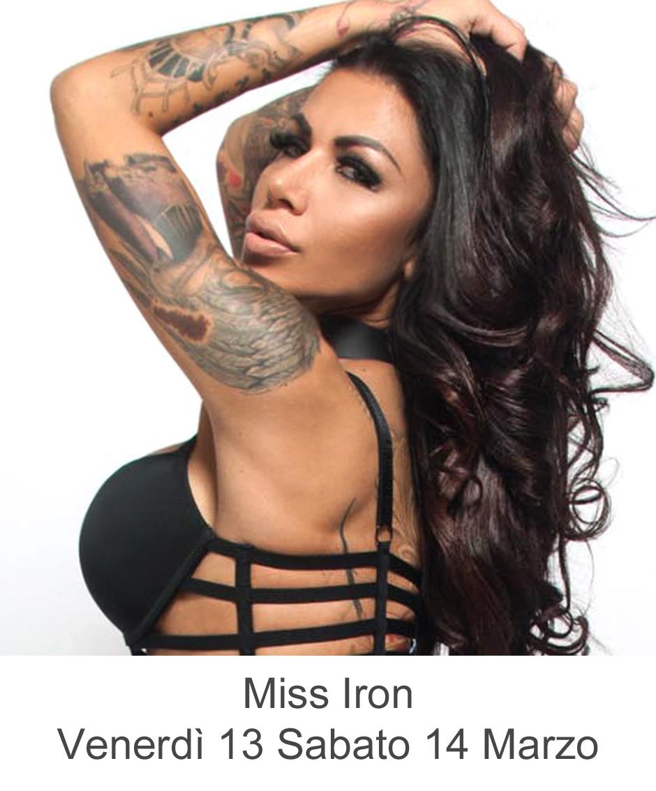 Miss Iron 13 14 marzo 2020