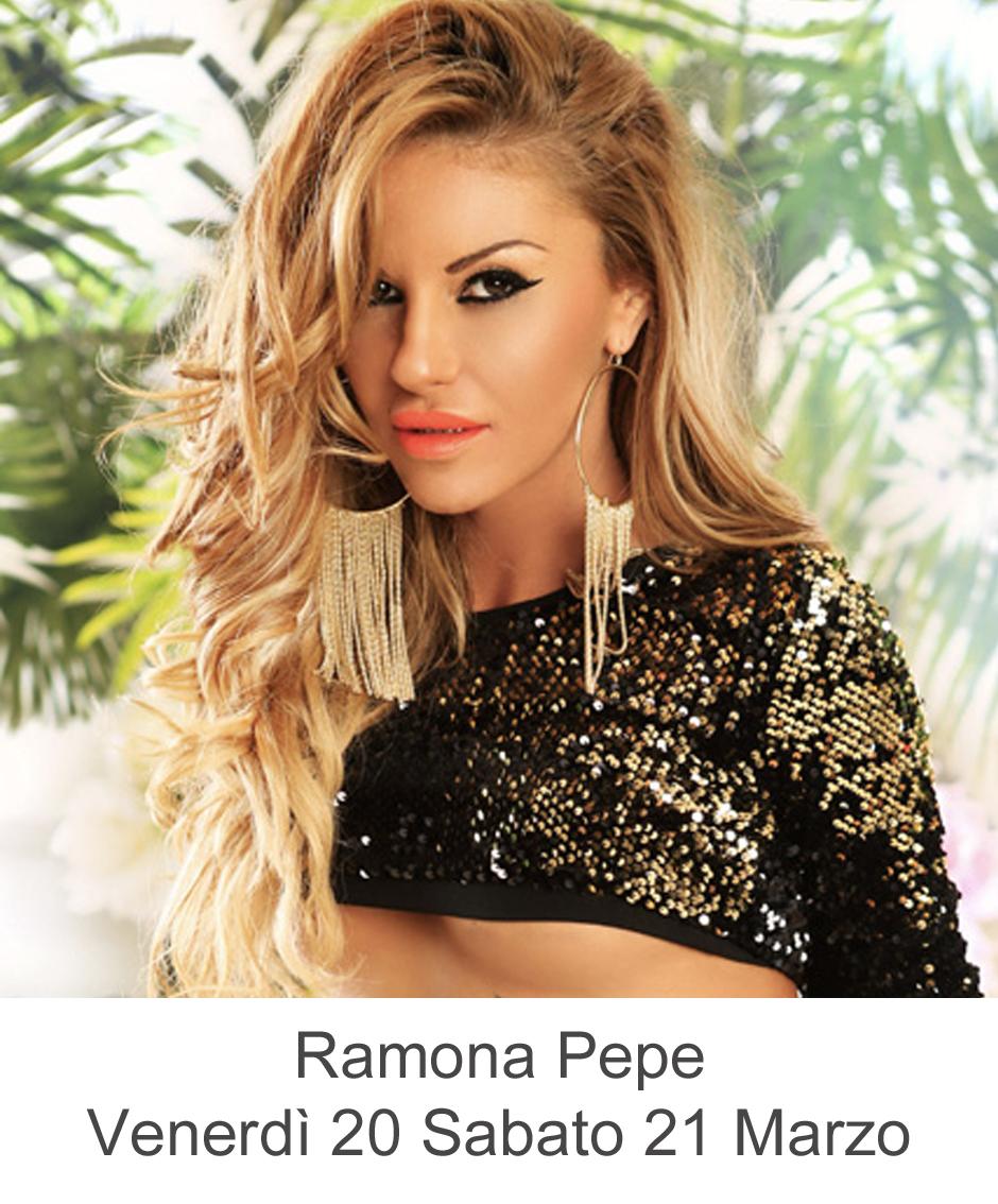 Ramona Pepe Venerdì 20 Sabato 21 Marzo