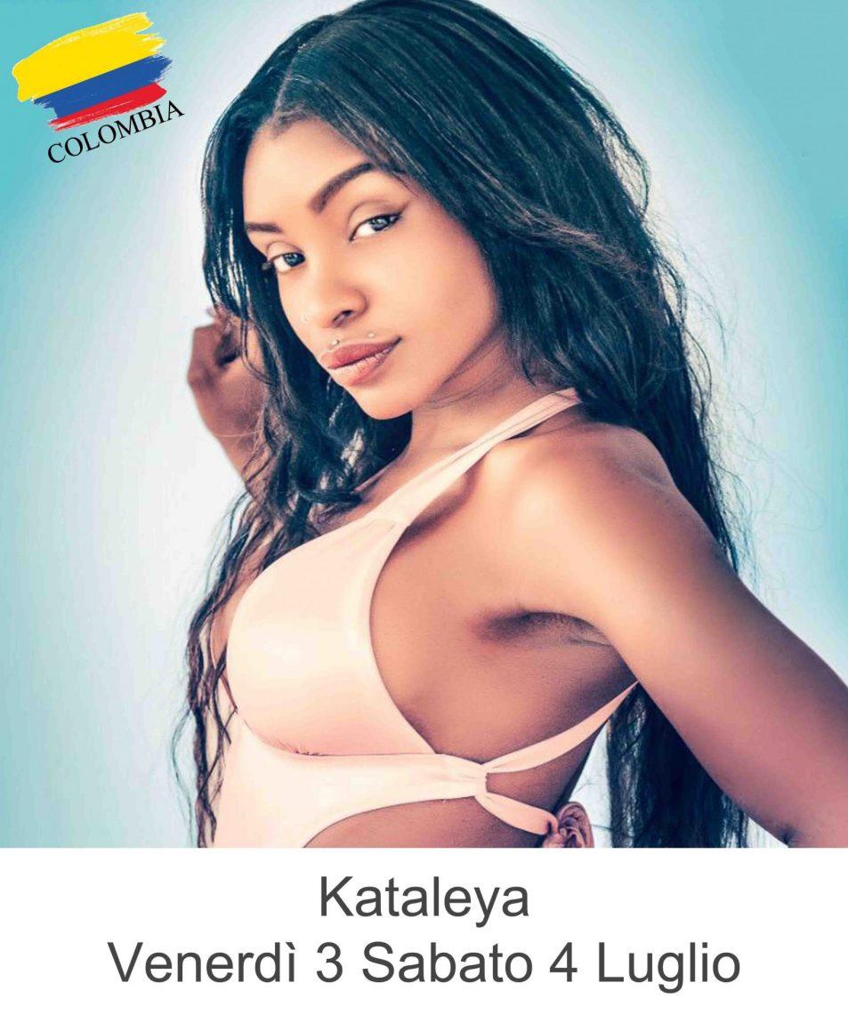 Kataleya  Venerdì 3 Sabato 4 Luglio 2020