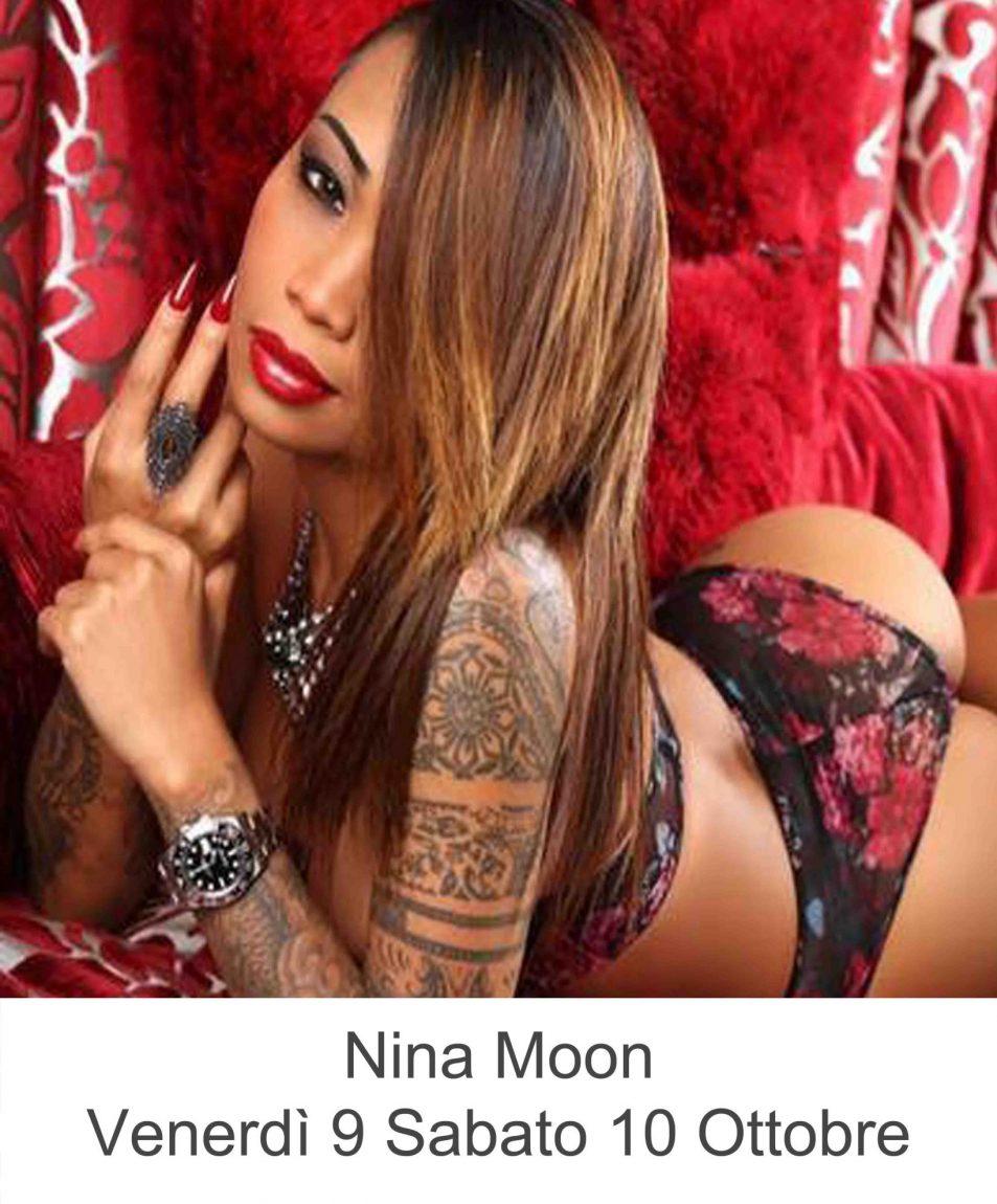 Nina Moon Venerdì 9 Sabato 10 Ottobre