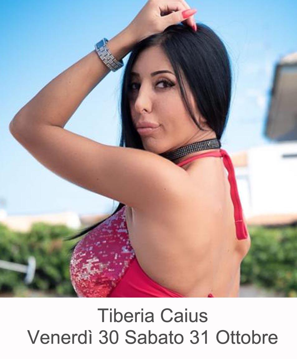 Tiberia Caius Venerdì 30 Sabato 31 Ottobre