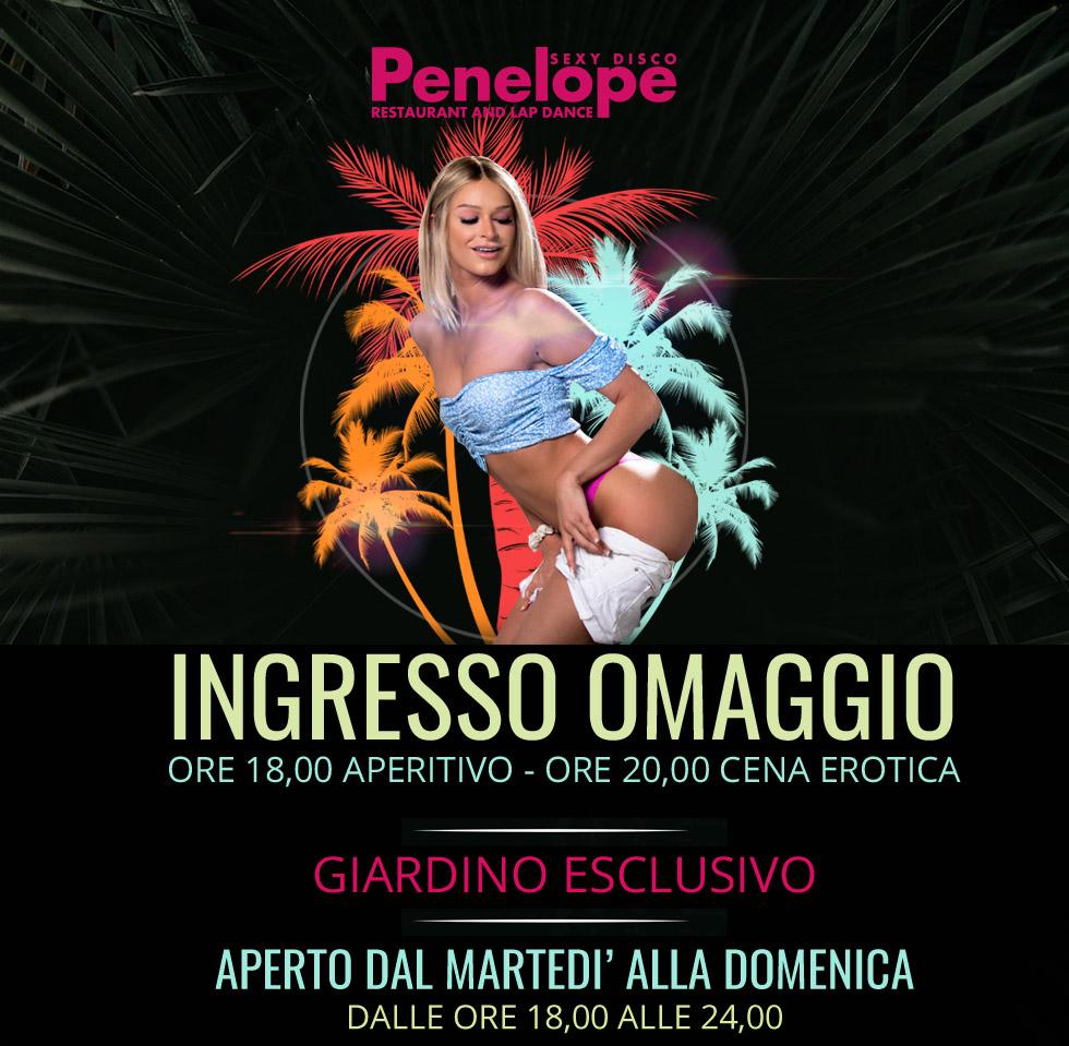 Grande riapertura del Penelope Sexy Disco Venerdì 4 Giugno