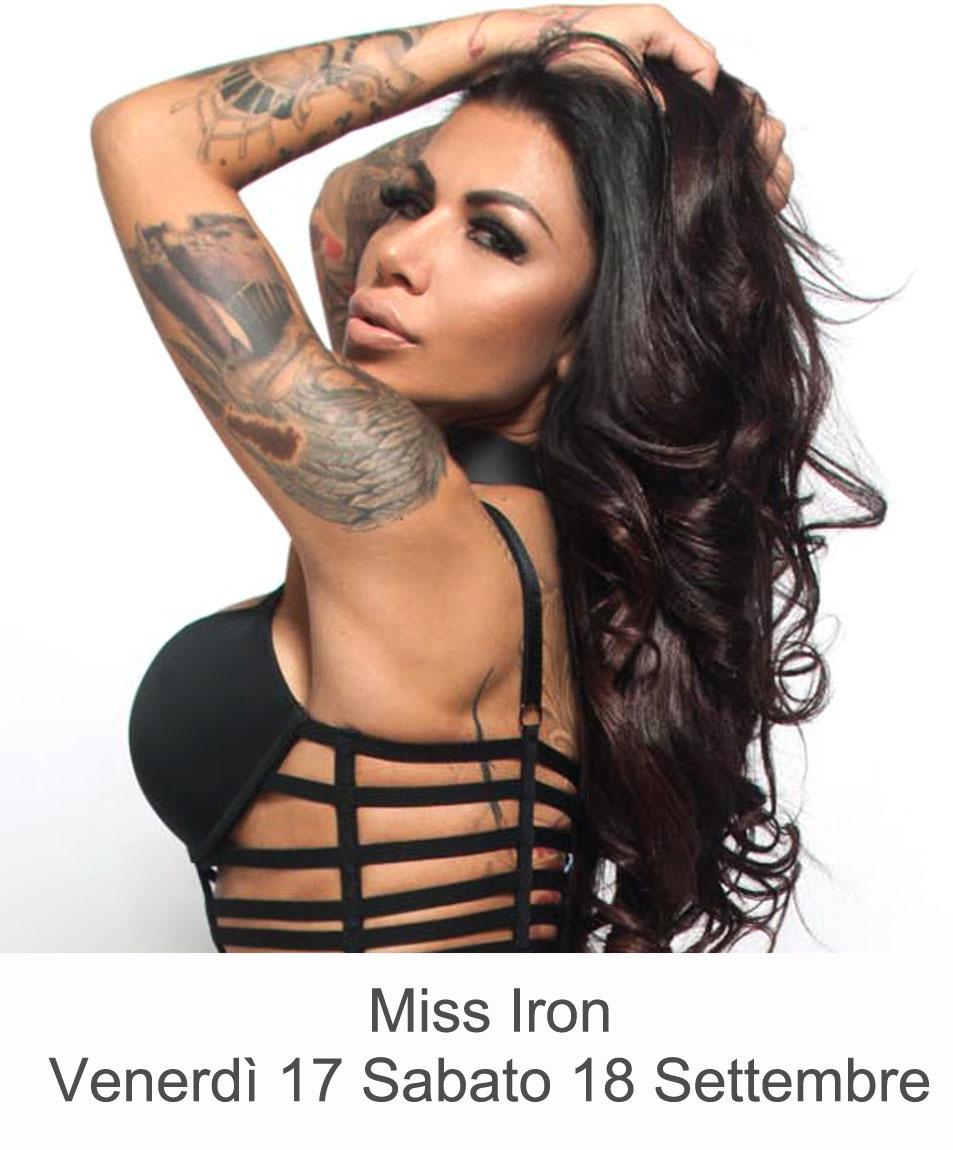 Miss Iron Venerdì 17 Sabato 18 Settembre 2021